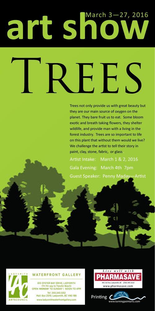 ARt Show Trees