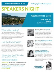 Waterfront Plan Speakers Night