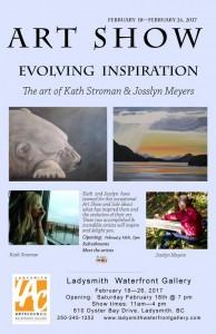 ARt Show Evolving Inspiration