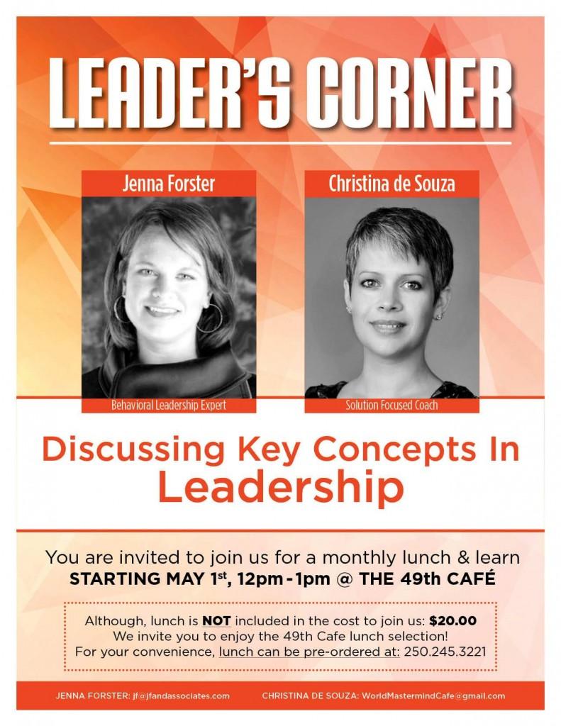 Leader's Corner Poster