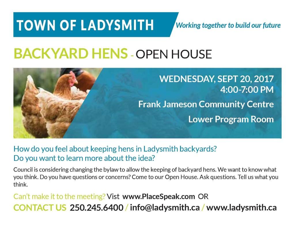 TOL Backyard Hens - Open House